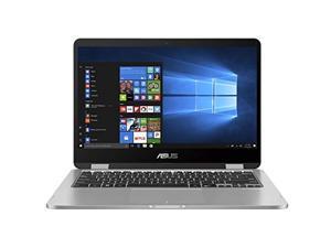 "ASUS VivoBook Flip 14 Thin and Light 2-in-1 Laptop, 14"" HD Touchscreen, Intel Celeron N4020 Processor, 4GB RAM, 128GB EMMC, Windows 10 Home in S Mode, Fingerprint, J401MA-AB01-CA"
