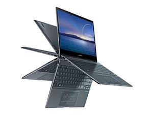 "ASUS ZenBook Flip UX363JA-DB51T Intel Core i5 10th Gen 1035G1 (1.00 GHz) 8 GB Memory 512 GB PCIe SSD Intel UHD Graphics 13.3"" Touchscreen 1920 x 1080 Convertible 2-in-1 Laptop Windows 10 Home 64-bit"