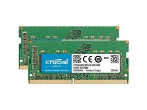 Crucial 64GB (2 x 32GB) DDR4 2666 (PC4 21300) Unbuffered Memory for Apple Model CT2K32G4S266M