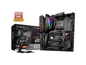 MSI Enthusiast Gaming AMD Ryzen 2ND & 3rd Gen X570 AM4 DDR4 PCIe 4 M.2 USB 3.1 CFX SLI WiFi 6 Dual LAN ATX Motherboard (Meg X570 Ace)