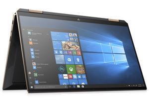 "HP Spectre x360 13.3"" 4K UHD AMOLED TouchScreen Laptop/Notebook/Tablet Convertible, 10th Gen Quad Core i7-1065G7, 16GB Ram Memory, 512GB SSD Drive, WiFi, Bluetooth, W10, 2020 Gem-cut, Nightfall Black"