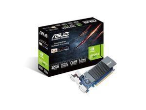 ASUS GT710-SL-2GD5-BRK - Graphics card - GF GT 710 - 2 GB GDDR5 - PCIe 2.0 - DVI, D-Sub, HDMI - fanless