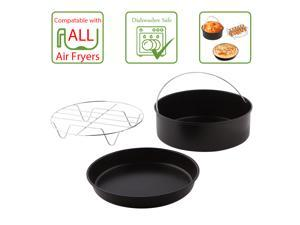 Simple Living Products SL-AF-AC1 3 Piece 5L Airfryer Accessory Pack