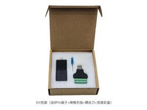 HF Serial Port RS232 to Ethernet  Elfin-EE10 Serial Server ModbusTCP//HTTP