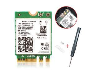 2400Mbps WiFi 6 M.2 Key E For Intel AX200 Dual Band Wireless Adapter, AX200NGW Bluetooth 5.0 Wi-Fi Network Card, 2.4Ghz/5Ghz, 802.11ac/ax, Support MU-MIMO, OFDMA, Support Windows 10 For Laptop Desktop
