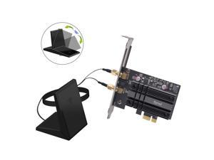 fenvi FV-AX3000 New Wifi 6 Dual Band 3000Mbps PCIe Wifi Adapter Intel AX200 Wifi Card Bluetooth 5.0, IEEE 802.11ax/ac, 2.4Ghz/5Ghz, MU-MIMO, OFDMA, Windows 10, PCI Express Magnet Antenna