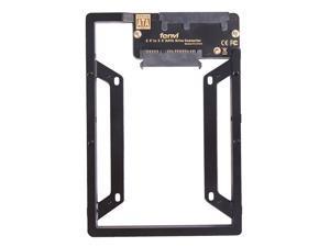 "Fenvi New 2.5"" to 3.5"" Internal SSD Hard Drive SATA Drive Converter Bracket Adapter Kit W/ Bay Converter adapter + Screws,support Desktop/PC/Mac,Fit Windows /Mac Os"
