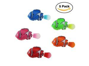 Tipmant Cute Electric Fish Baby & Toddler Bath Toy Goldfish Swim in Water Tank, Bathtub, Swimming Pool Kids Gift