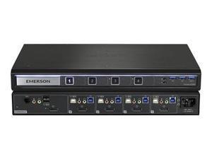 4-port Avocent SV240D - KVM switch - 4 x KVM port(s) - 1 local user - desktop