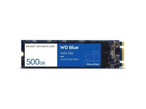 WD WDS500G2B0B Blue 3D NAND 500GB PC SSD - SATA III 6 Gb/s M.2 2280 Solid State Drive