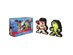 PDP Pixel Pals - Marvel vs. Capcom - Gamora vs. Ryu