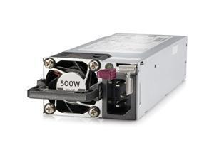 HPE 500W Flex Slot Platinum Hot Plug Low Halogen Power Supply Kit - 230 V AC, 380 V DC - 865408-B21