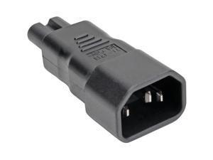 Tripp Lite IEC C14 to IEC C5 Power Cord Adapter - 10A 250V Black