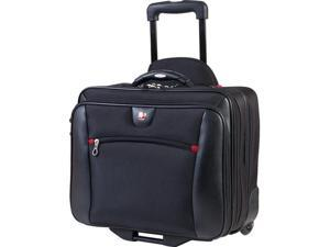 2 in 1 DELUXE BUSINESS TRAVELER ROLLER WITH REMOVABLE NOTEBOOK PORTFOLIO