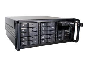 15 bay 6G Trayless Rackmount SAS Expander JBOD - ER1506T w/ LSI 9286-8E Controller Card and 1M SFF-8088 Cable