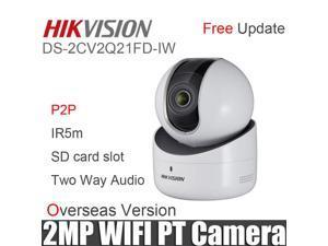 Original Hikvision DS-2CV2Q21FD-IW  EZVIZ 2MP PT Camera Build-in microphone & speaker, two-way audio IPC USB WiFi Hik-connect