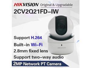 Hikvision DS-2CV2Q21FD-IW English Version 2MP Mini Wi-Fi PT Built-In Microphone And Speak IP Camera? EZVIZ Home Use