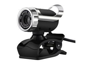 Webcam with Microphone HD 480P Rotatable Computer Camera 0.3 Megapixel AutoFocus with USB Plug for Video Calling,Conferencing,Recording