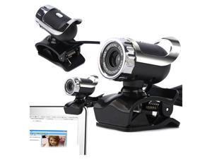 Computer Camera, Webcam 480P HD Video Web Camera with Microphone USB Plug and Play Autofocus Camera