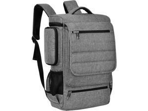 ESTONE Travel Gaming Laptop Backpack 18.4 Inch , Waterproof Computer Bag Notebook Rucksack for 17.3 18-18.4 Inch Dell, Asus, Msi,Hp Gaming Laptops (Gray)