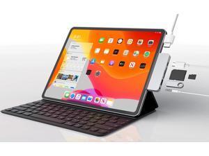 """USB C Hub for iPad Pro, 6-IN-1 USB C Adapter, USB3.0, SD/TF Card Reader, 3.5mm Headphone Jack, PD, 4K HDMI,USB-C PD Charging, iPad Pro 2016-2021 iPad Air 2018-2020 11""""/12.9"""""""