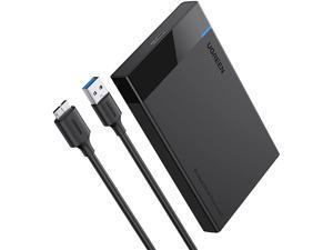 ESTONE USB 3.0 UASP USB3.0 to Sata III HDD Case 2.5 inch Hard Drive Enclosure USB C to SATA I/II/III hard drive shell
