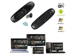 ESTONE Air Mouse USB Universal Remote Control 2.4Ghz Wireless Mini Keyboard 3-Axis Gyroscope USB Remote Control for PC HTPC IPTV Android Tv Box Media Player