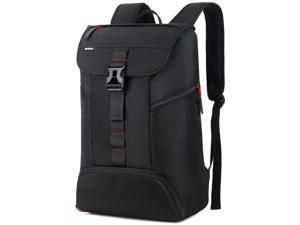 ESTONE 17 Inch Laptop Backpack w,Travel Bag Hiking Knapsack Rucksack College Student Shoulder Back Pack For Up to 17 Inches Laptop Notebook Computer,Black