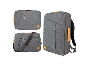 WIWU Laptop Backpack 13.3 14.1 15.4 15.6 Canvas Waterproof Backpack Genuine Leather Bag for Macbook Men's Backpack