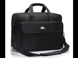 "17.3 inch Laptop Bag Multi-compartment Messenger Bag Business ESTONE 15.6"" 17"" Briefcase Water-resistant Nylon Computer Shoulder Bag fit up to 17"" Laptop / Ultrabook / Macbook / Asus / Lenovo"