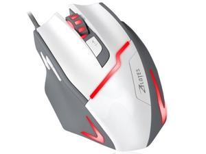 Zelotes Gaming Gamer Mouse [7200DPI High Precision],[Fire Button],[LED Breath Light] ZELOTES Ergonomic Wired Optical Computer Mice for PC/Laptop/Desktop/Mac