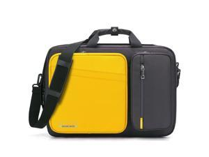ESTONE Anti Theft Laptop Backpack,Laptop Bags For Up to 15.6-17.3 Inch Laptops/3 Styles Carry Lightweight College School Student Travel Business Work Computer Backpack, Yellow