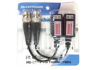 Analog Transmitter HD-CVI TVI AHD CVBS 4 in 1 Video Balun Receiver For Camera
