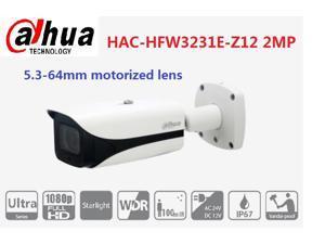 Dahua HAC-HFW3231E-Z12 2MP HD and SD dual-output 12x Optical Zoom Starlight HDCVI IR Bullet Camera