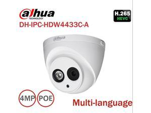 Dahua DH-IPC-HDW4433C-A HD 4MP PoE Eyeball Dome Network Security IP Camera  PoE WDR IP67 Built-in Mic Microphone 2 8MM Replace IPC-HDW4431C-A