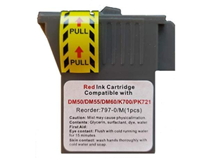 797-0 - Pitney Bowes Compatible Red Ink Cartridge for Mailstation