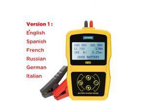 12V Car Battery Diagnostic Tester BT360 Automotive Battery Tester Analyzer Vehicle CCA2400 Analyzer