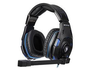 SADES Knight Pro Gaming Headset with Bongiovi Acoustics Gaming DPS!