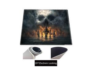 90X40CM Skull Ship Large Gaming Mouse Pad Lockedge Mouse Mat For Laptop Computer Keyboard Pad Desk Pad For Dota 2 CSGO