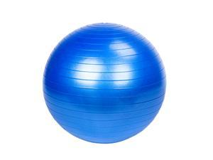 85cm 1600g Gym/Household Explosion-proof Thicken Yoga Ball Smooth Surface Blue