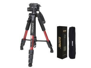 Red Pro Aluminium Q111 Tripod Heavy Duty w/ Pan Head For DSLR Camera Video
