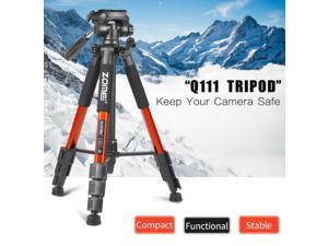Professional Q111 Aluminum Tripod Stand Kit For Nikon Canon Camera Videos