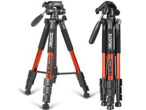 Portable 3-Way head Tripod Kit for Canon/Nikon/Sony DC SLR DSLR Digital Camera