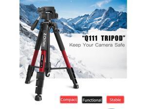 Professional  Q111 Aluminium Tripod Pan Head For Nikon Canon DSLR Camera DV