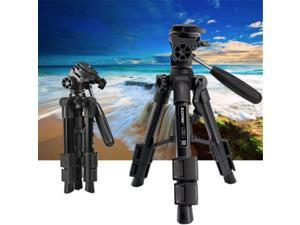 Mini Tabletop Tripod Travel Portable Camera Tripod Phone Stand w/ Pan Head