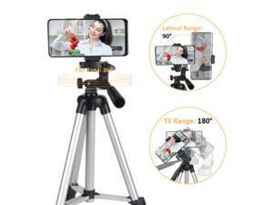 Professional Camera Tripod Stand&Pan Head for Cellphone Camera Canon Nikon DSLR