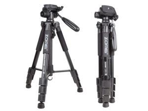 Compact Light Weigt Travel Portable Aluminum Tripod W Bag for Canon camera