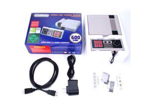 New Mini Retro HDMI HD Classic NES Edition Console TV Game Built-in 600 Games + 2 Handle Controllers