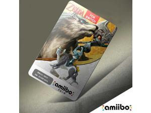 WOLF LINK 20 HEARTS Amiibo NFC TAG Card- The Legend of Zelda Breath of the Wild