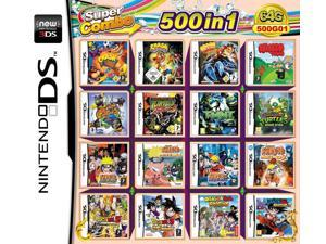 500 Games in 1 NDS Game Pack Card Super Combo Cartridge for Nintendo DS 2DS 3DS New3DS XL